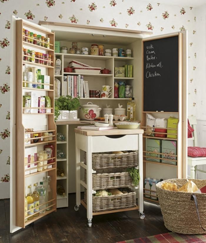 ideas sobre como organizar la cocina de una manera funcional, fotos de cocinas bonitas y modernas, ideas para ordenar la cocina