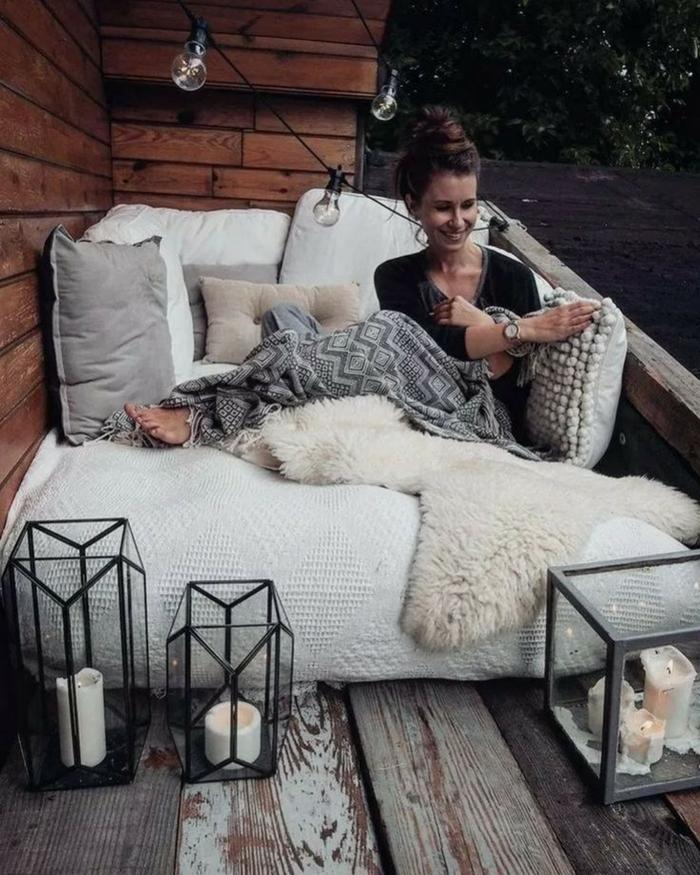 fantasticas ideas sobre como convertir tu terraza en un espacio comodo y acogedor, muebles para la terraza originales