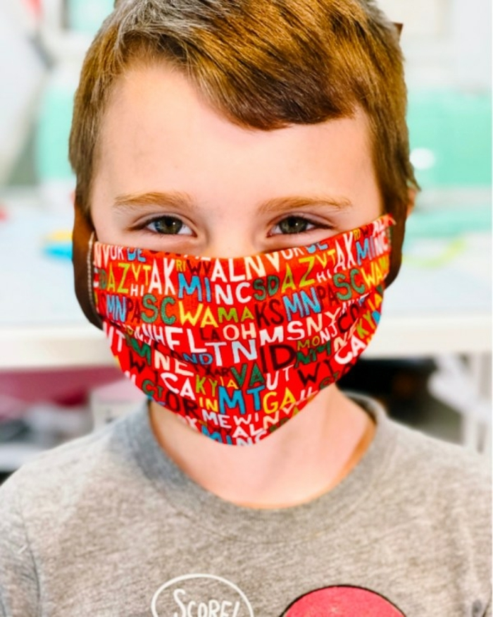 ideas on how to make homemade masks for children and adults, add protection to your homemade mask with a HEPA filter