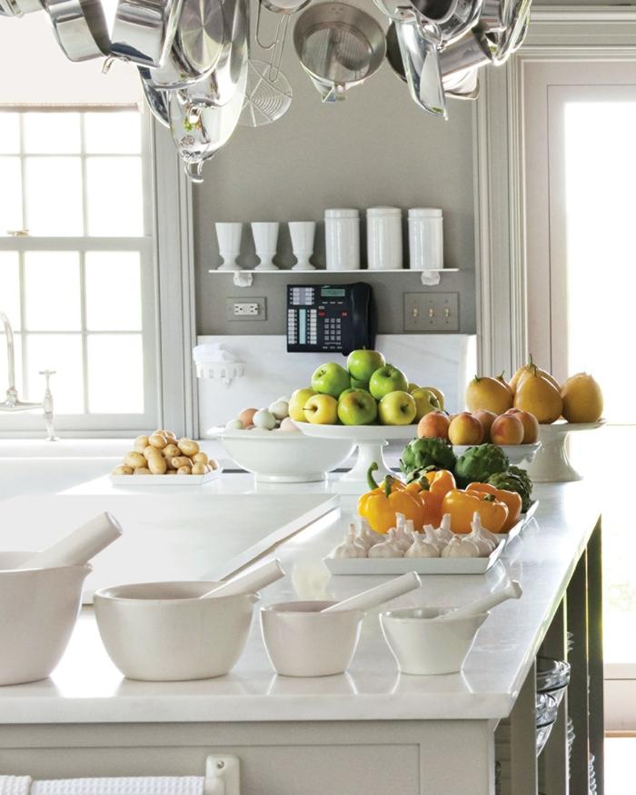 las mejores fotos de cocinas limpias, modernas y bien organziadas, ideas sobre cajas de almacenaje, cocina blanca moderna