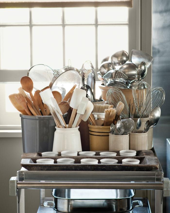 ideas para organizar mejor la cocina, cajas de almacenaje e ideas para conseguir una cocina ordenada, fotos de cocinas