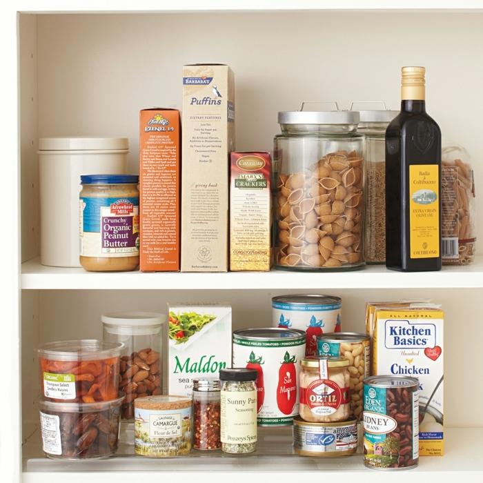 soluciones de almacenamiento para la cocina, estanteria cocina ikea, ideas originales sobre como ordenar la cocina en fotos