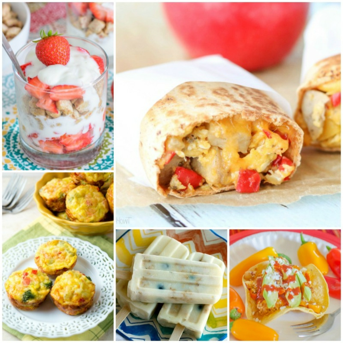 diferentes propuestas de comidas caseras fáciles y rápidas, mejor para comer con niños con algunas recetas paso a paso