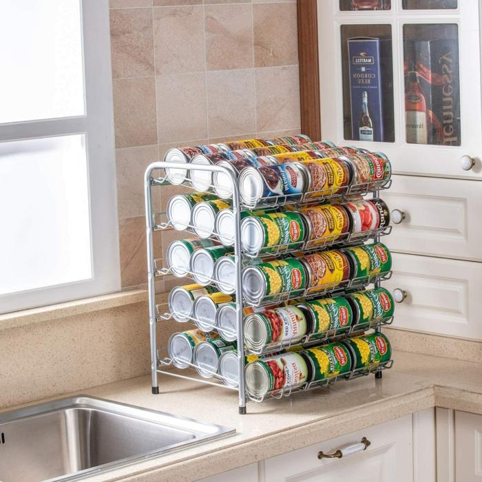 las mejores ideas de organizadores de cocina, latasen un organizador, como conseguir una cocina ordenada, cocinas modernas y funcionales en fotos