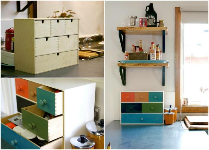 armarios y estantes bonitos para la cocina, como organizar la cocina paso a paso, organizadores de cocina modernos