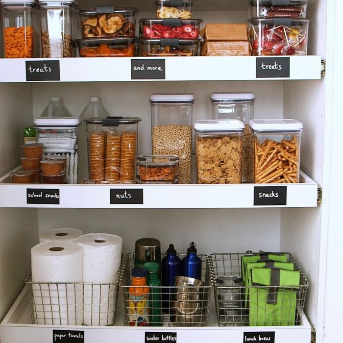 como almacenar las cosas en el armario de la cocina, organizador cajones cocina bonitos y funcionales, ideas para cocinas