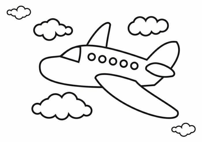 dibujos infantiles para imprimir y colorear, fotos de dibujos sencillos para niños peqeuños, aprender a dibujar paso a paso