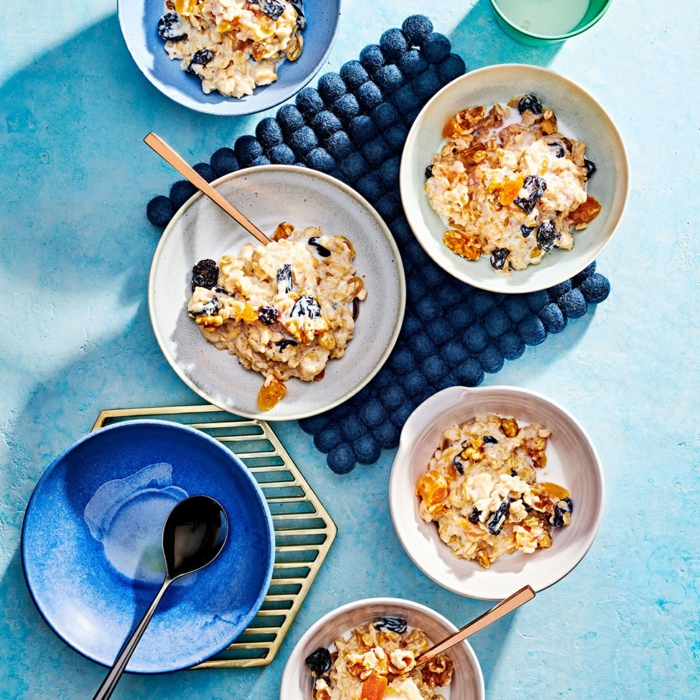 fantasticas ideas de desayunos con cereales para toda la familia, desayunos nutritivos y ricos, ideas de desayunos
