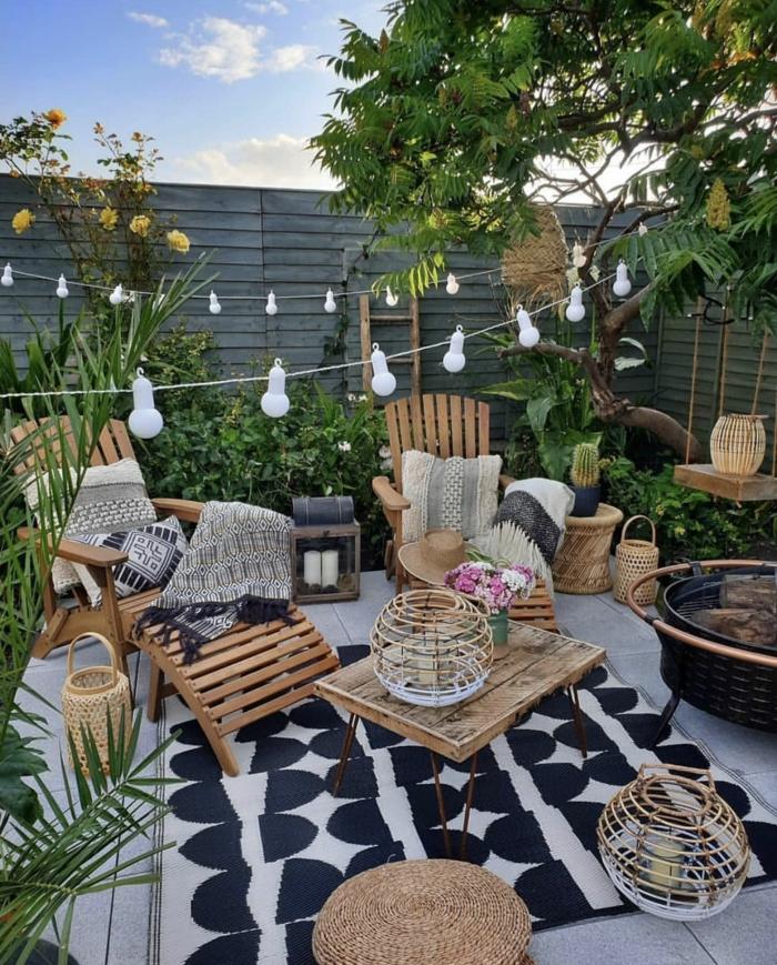 geniales ideas sobre como decorar el porche o el patio, terrazas con encanto y como escoger los muebles para la terraza