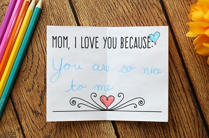 originales ideas de tarjetas dia de la madre, fotos de tarjetas hechas a mano, manualidades dia de la madre infantil