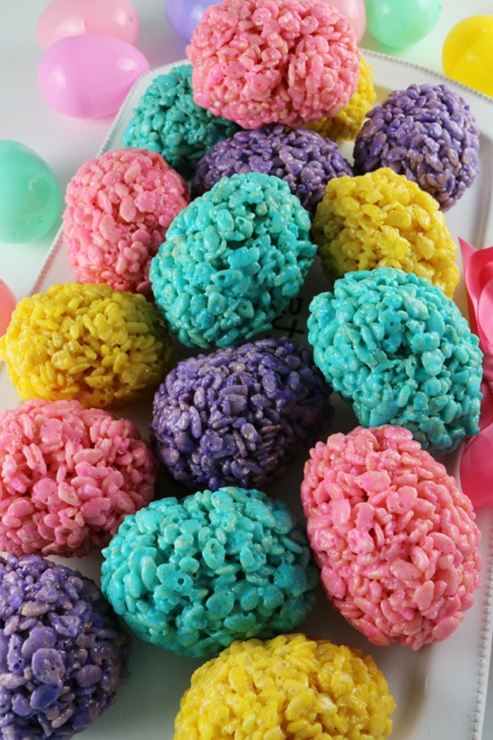 como hacer dulces y postres para Semana Santa, galletas apetitosas en colores pasteles para Pascia, fotos de comidas caseras