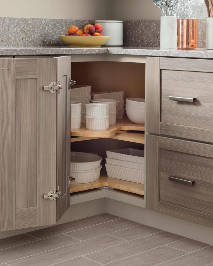 ideas practicas y funcionales para la cocina, organizador cajones cocina, ejemplos de practicas buenas de almacenaje en la cocina