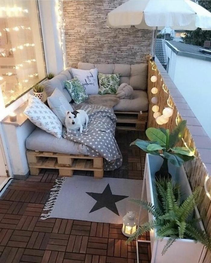 espacios bonitos y acogedores, terrazas con palets modernas y bonitas, fotos de terrazas chulas para descansar