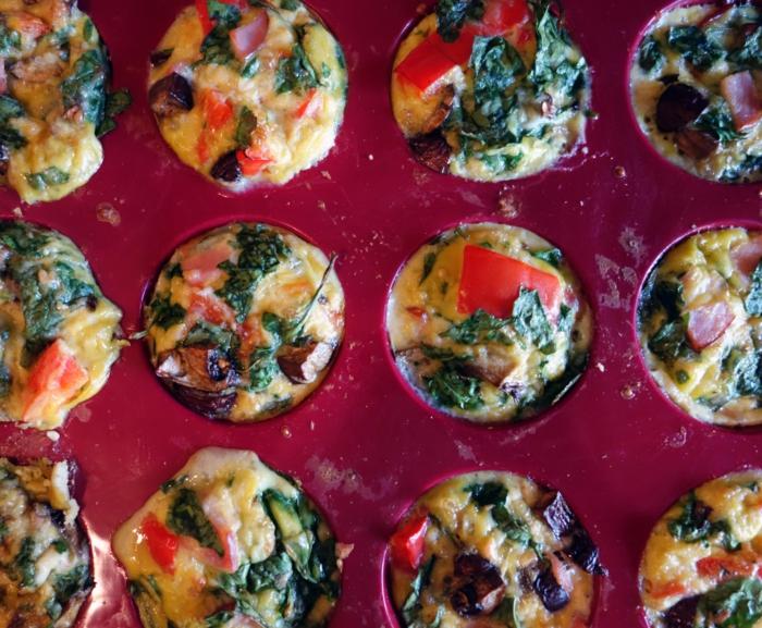 magdalenas esponjosas con huevos y espinacas, ideas de recetas caseras faciles y rapidas, ideas de recetas ricas para la familia