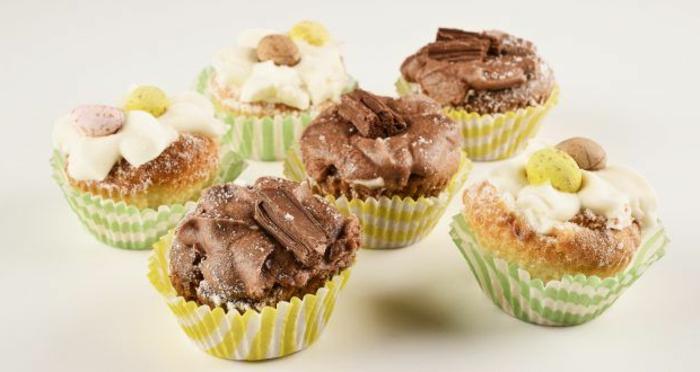 magdalenas con marshmallow y chocolate, las mejores ideas de recetas de postres caseros para hacer en casa paso a paso