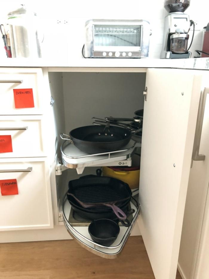 ideas practicas para organizar la cocina, organizador cajones cocina, fotos de cocinas modernas y ordenadas para descargar