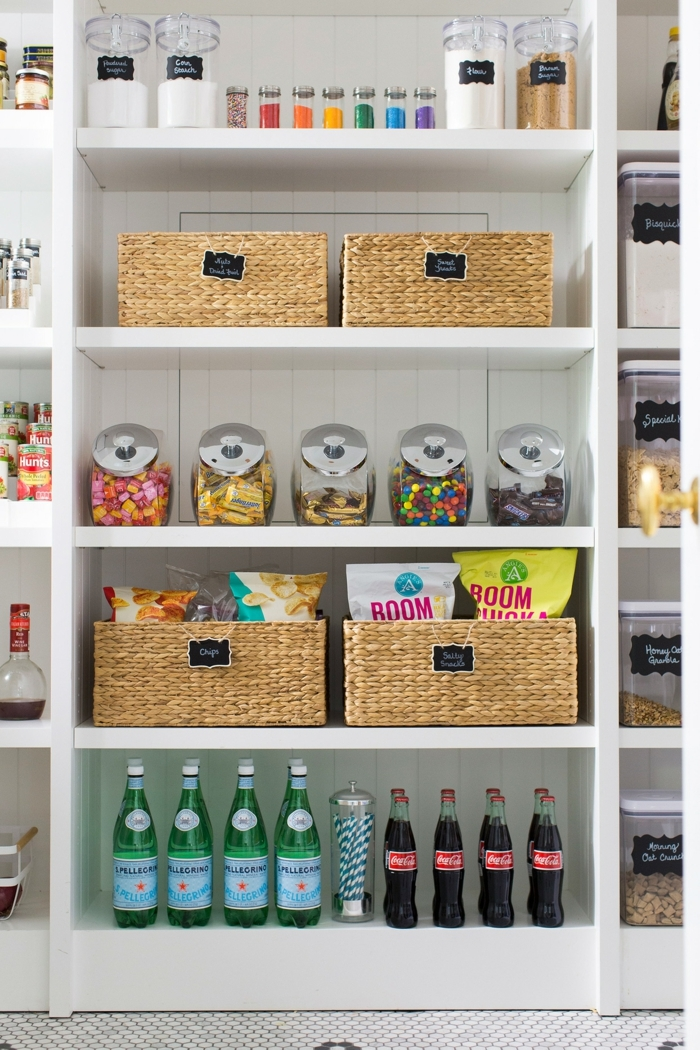 ideas para almacenar comidas en la cocina, organizador cajones cocina, fotos de cocinas modernas y organizadas para inspirarte