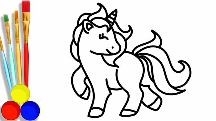 dibujo de unicornio super chulo, cosas para redibujar en casa, disney dibujos para colorear paso a paso, ventajas de las paginas de colroear