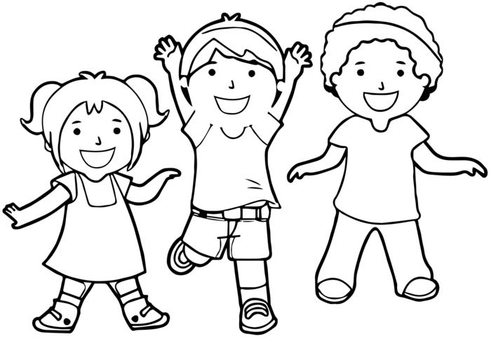 dibujos para colorear de animales y niños, fotos de diubjos faciles de hacer, dibujos para colorear de cosas simpaticas