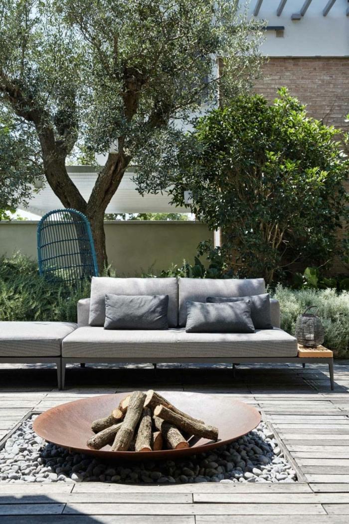 geniales ideas sobre como decorar el jardin, decoracion terrazas aticos, como decorar el porche en estilo mediterraneo