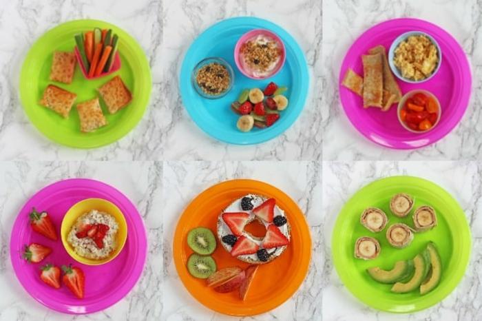 diferentes platos nutritivos y ricos, ideas de desayunos con frutas y desayunos con aguacate, recetas sanas para los mas pequeños