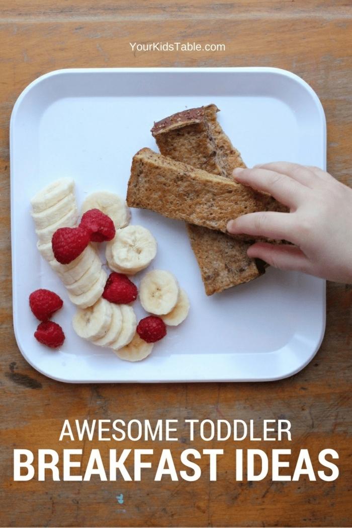 pan dulce con verduras, pláranos y fresas, recetas de cocina faciles y sanas, ideas de recetas para empezar el dia lleno de energia