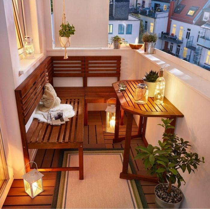 decoracion de terrazas con lamparas y luces, geniales ideas sobre como decorar una espacio abierto en casa en fotos