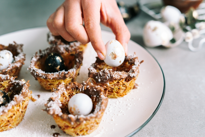 dulces de semana santapara decorar la casa, originales ideas de comidas dulces simpaticas para poner en tu mesa, ideas de recetas