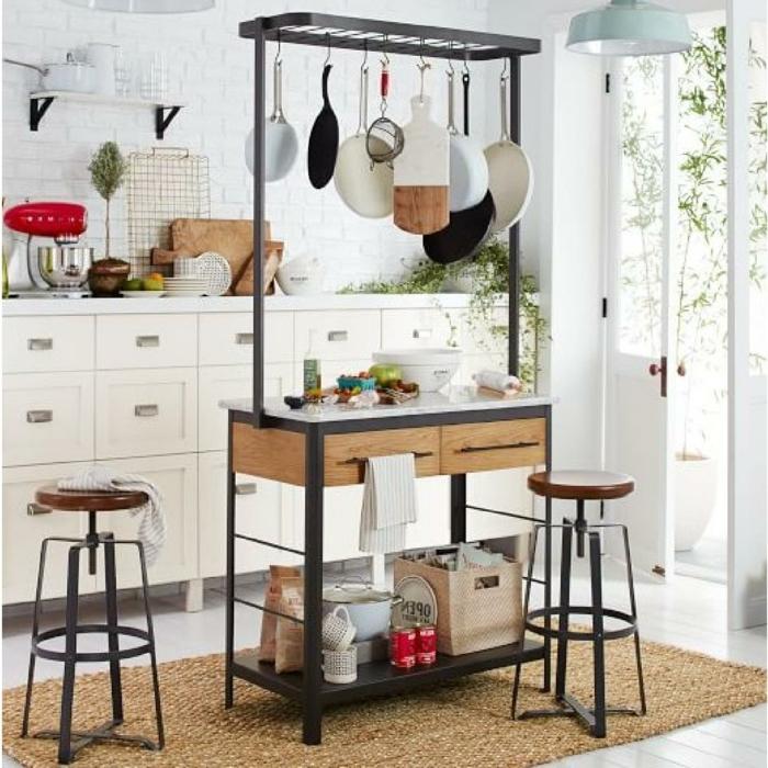 adorables ejemplos de pequeñas cocinas decoradas con mucho encanto, ingeniosas ideas para la cocina, cocina pequeña blanca