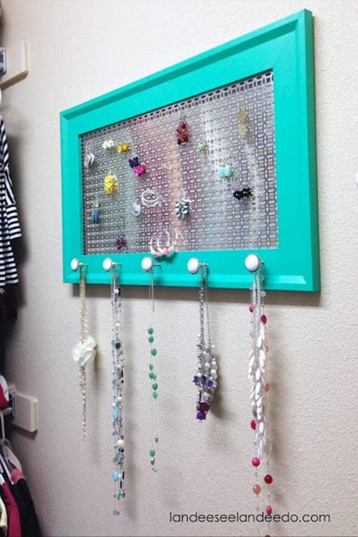 manualidades dia de la madre, organizador de joyas, las mejores ideas de regalos DIY originales, fotos de regalos