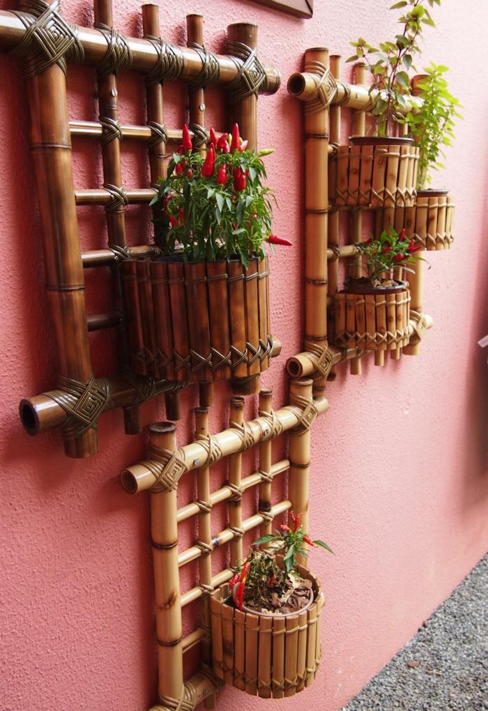 fantasticas ideas de decoracion con bambu para el patio y el jardin, ideas de decoracion con bambu paso a paso, fotos de decoracion
