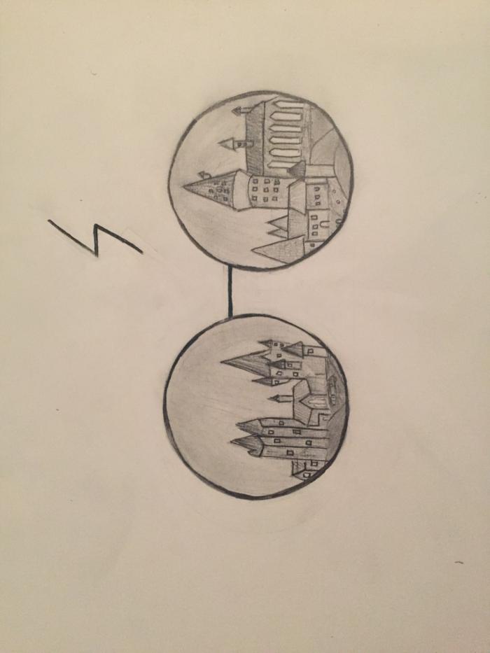 pequeños dibujos que enamoran, fotos de dibujos chulos inspirados en harry potter, ideas de dibujos faciles de hacer