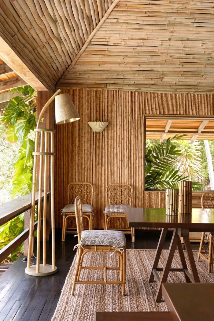 geniales ideas sobre como amueblar la casa con muebles de bambu, ideas para decorar una habitacion con bambu, muebles de bambu