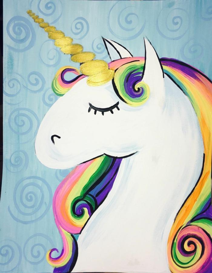 dibujos para colorear de unicornios y pinuras unicornio chulas, las mejores ideas de dibujos de critaturas magicas
