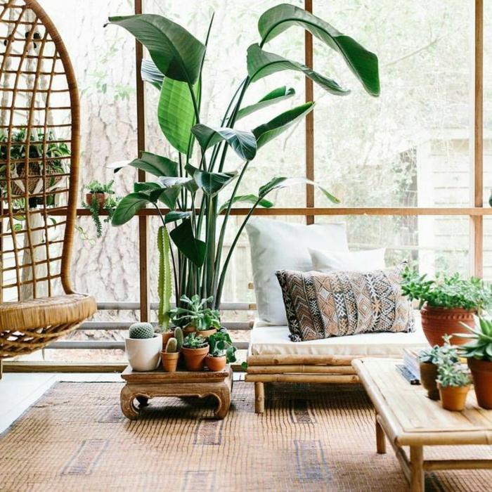 las mejores ideas de ambientes decorados con bambu, muebles con bambu modernos y originales, cañas de bambu decoracion