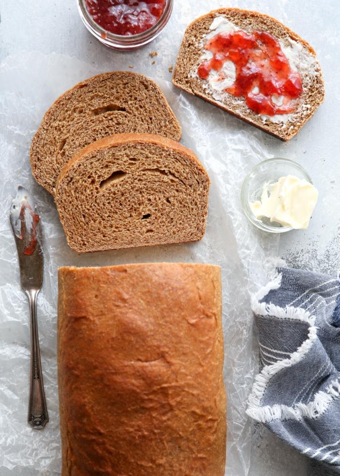 ideas para preparar pan integral, recetas de pan rapidas y faciles, como hacer pan en el horno de casa paso a paso