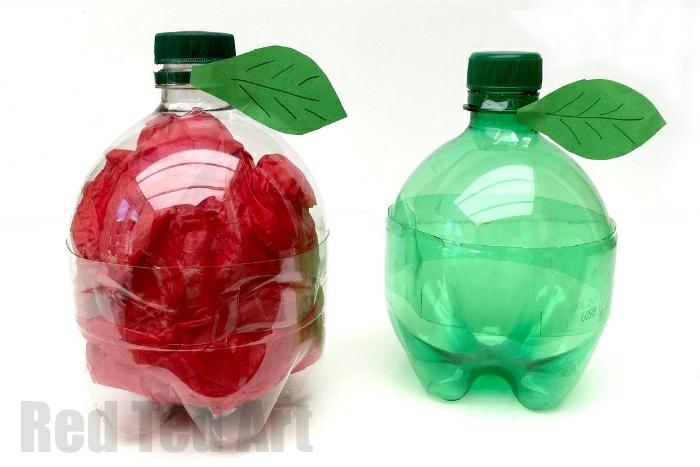 alucinantes ideas sobre que hacer con botellas de plastico, fotos de botellas recicladas bonitas en colores para niños
