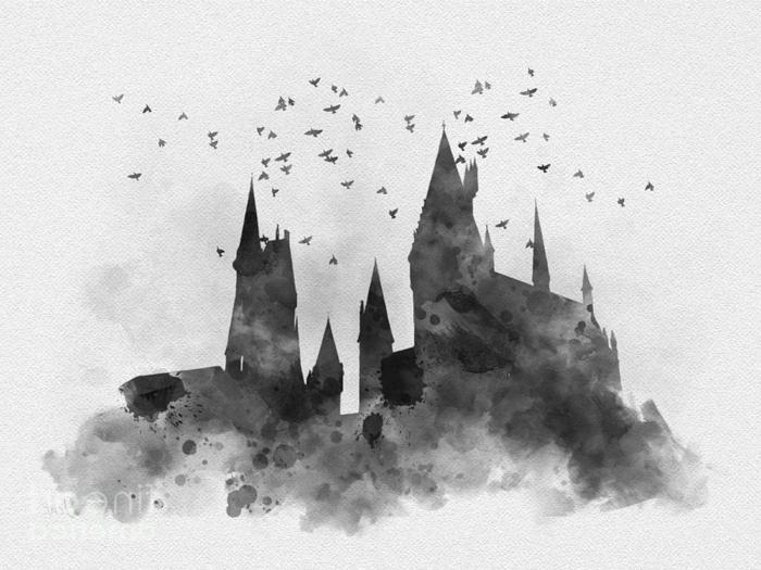 dibujos originales y bonitos del mundo de harry potter, las mejores ideas sobre dibujos inspirados en los libros de Harry Potter