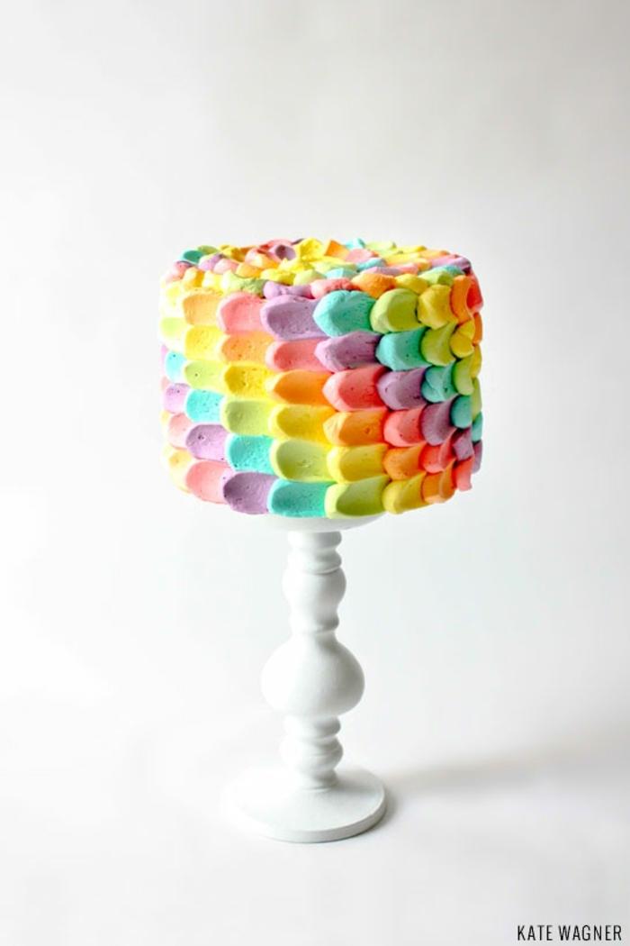 tartas decoradas con mucho encanto, ideas de imagenes de tartas de cumpleaños, fotos de tartas ricas y faciles de hacer