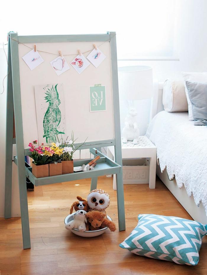como usar pintura a la tiza colores, fotos de muebles pintados en colores bonitos con pintura mate, ideas de muebles originales
