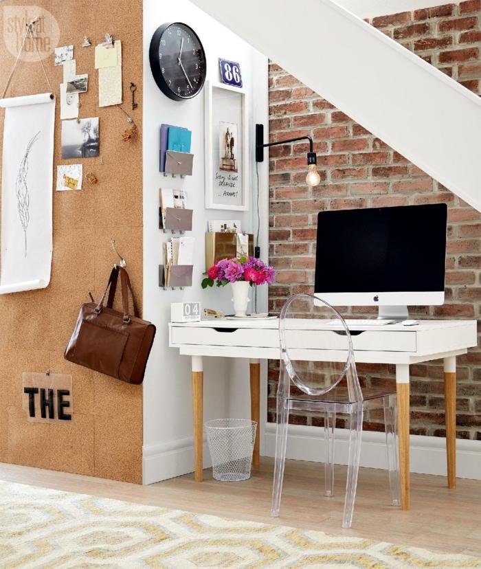 despacho en casa debajo de las escaleras, fotos con ideas sobre cómo amueblar tu despacho en casa paso a paso