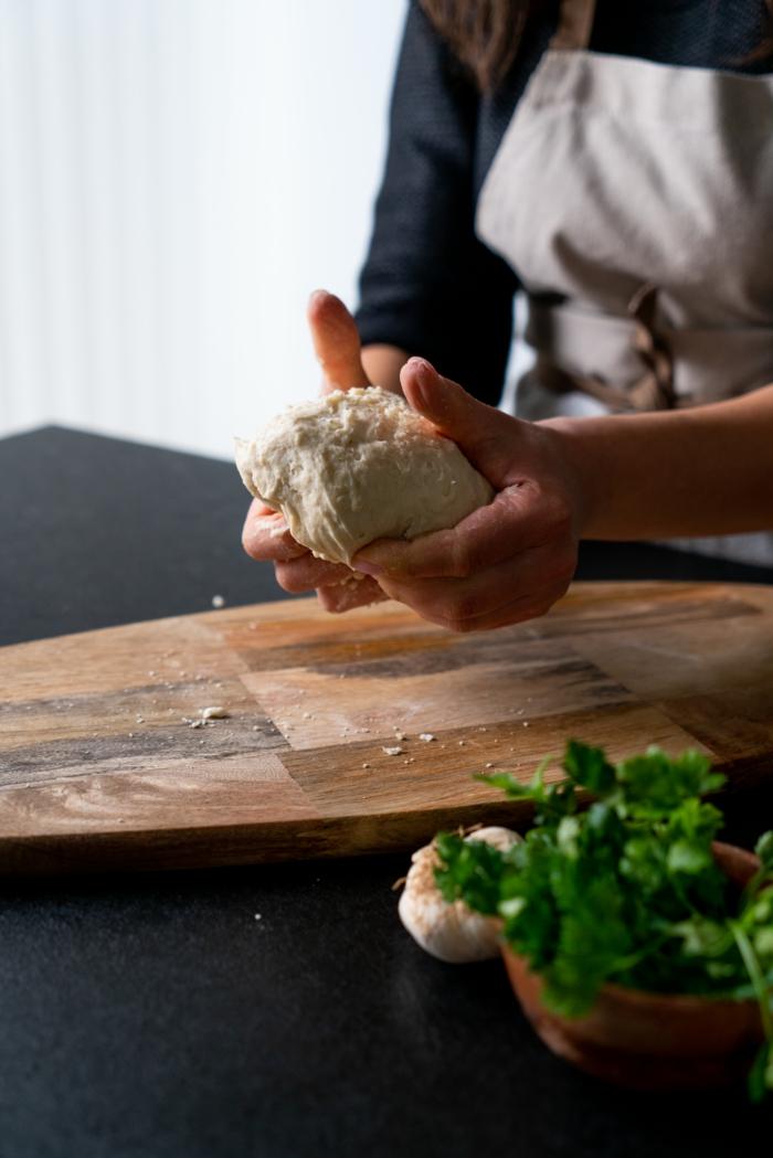 receta pan indio casero, ideas de recetas de pan ricas y faciles de hacer en casa, como preparar pan naan paso a paso