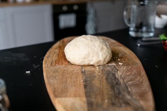 deja reposar el pan durante dos horas una vez que esté amasado, receta pan rico indio, fotos con ideas sobre como preparar pan
