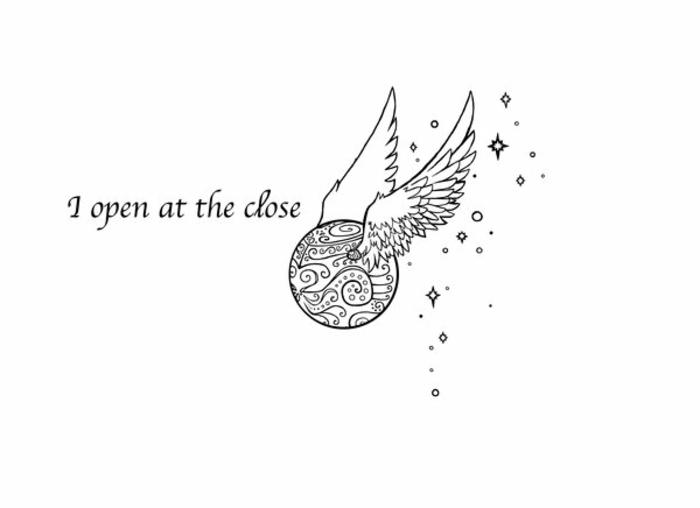 me abro al cierre, geniales ideas de cosas pequeñas para redibujar, originales ideas de dibujos de harry potter para colorear