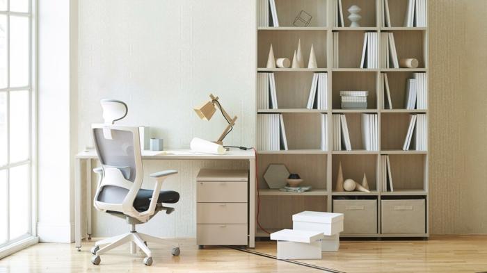 muebles modernos y funcionales para un desapcho, mesa escritorio ikea, ideas para amueblar tu oficina y trabajar desde casa