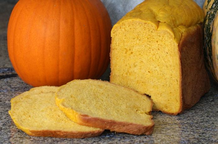 receta de pan casero esponjoso hecho de calabaza, las mejores receta de comidas faciles, fotos de recetas de pan casero