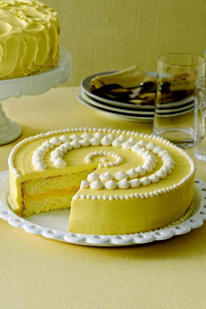 tarta de limon decorada con suspiros de azucar, las mejores ideas de imagenes de tartas de cumpleaños, fotos de tartas