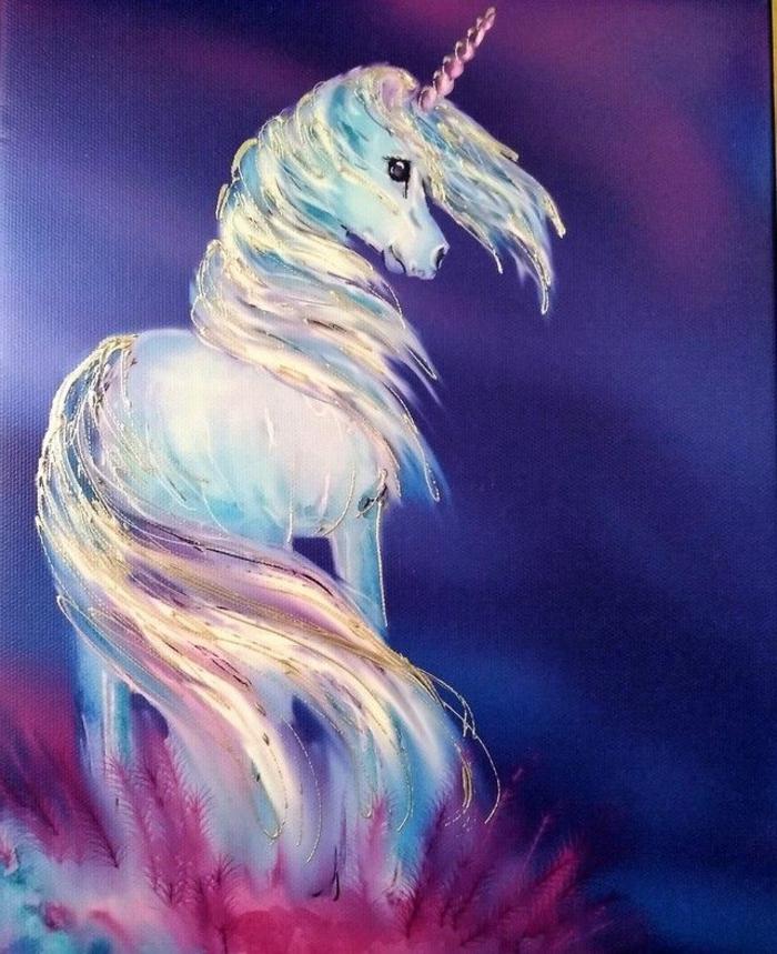 fantasticas ideas de dibujos de unicornios, fotos de dibujos unicornio originales, ideas de dibujos en acurela en fotos