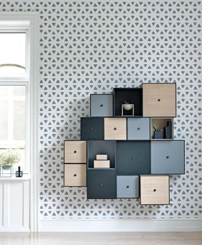geniales ideas sobre como decorar el salon, como pintar un mueble de madera de otro color, ideas para decorar el salon