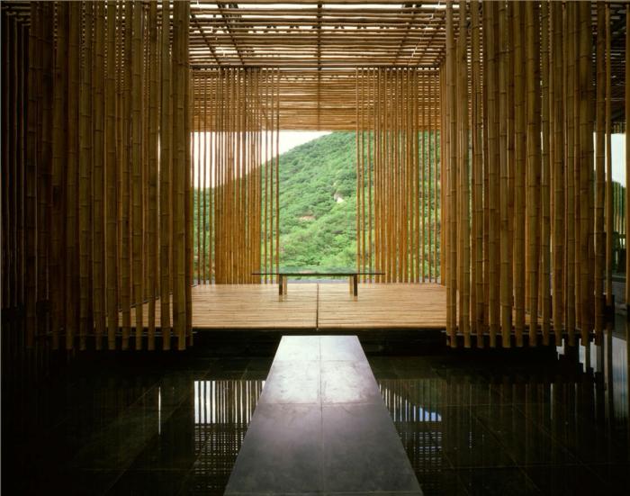 cañas de bambu decoracion, 60 inspiradores ideas de espacios exteriores e interiores decorados con bambu, fotos de decoracion bambu